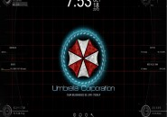 Umbrella Corp Windows7 Rainmeter Theme