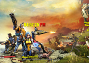 Borderlands Rainmeter Theme for Windows7