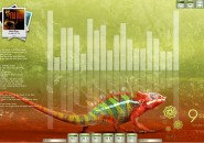 Chameleon Windows7 Rainmeter Theme