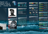 Cobolt Rainmeter Theme for Windows7