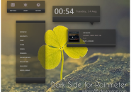 Dark Side Rainmeter Skin