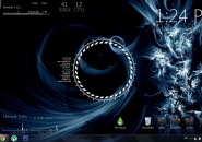 Firevoice1 Windows7 Rainmeter Theme