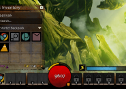 Guild wars2 Rainmeter Skin