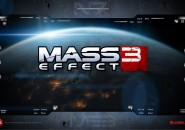 Mass Effect Rainmeter Theme for Windows7