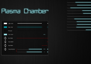 Plasma Chamber Windows7 Rainmeter Skin