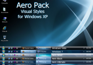 Aero Pack Visual Style Theme for Windows7
