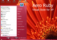 Aero Ruby Visual Style for Windows7