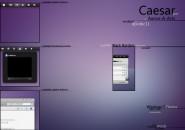 Caesar Mod Visual Style Theme for Windows7