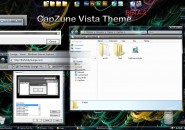 CapZune Beta 2 Visual Style for Windows7
