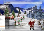 Christmas Visual style Theme for Windows7