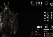 Dark Souls Rainmeter Theme for Windows7
