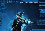 Digital Space Rainmeter Theme for Windows7