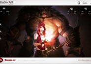 Dragon Age Rainmeter Theme for Windows7