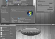 Elegant Gray Visual Style Theme for Windows7