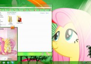 Fluttershy Visual Style for Windows7
