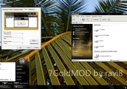 GoldMod Visual Style Theme for Windows7