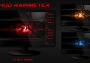 HUD Rainmeter Theme for Windows7