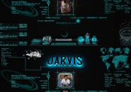 Ironman Jarvis Logon Screen for Windows7