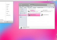 Lion Pink Visual Style Theme for Windows7