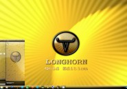 Longhorn Gold Visual Style Theme for Windows7