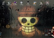 One Piece Rainmeter Theme