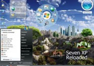 Seven Reloaded Visual Style Theme for Windows7