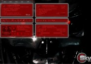 Skynet Windows7 Rainmeter Theme