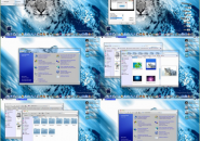 Snow Leopard Visual Style for Windows7