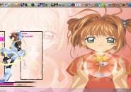 Tema De Sakura Visual Style for Windows7
