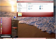 True Red Visual Style Theme for Windows7