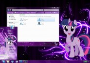 Twilight Sparkle Visual Styles for Windows7