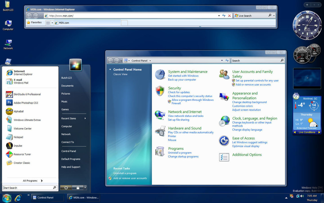 Top 30 windows 7 themes (clean visual styles).