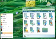 Win Vista Glass Visual Style for Windows7