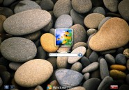 Pebbles Logon Screen for Windows7