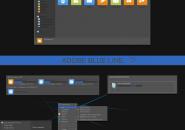adobe blue link
