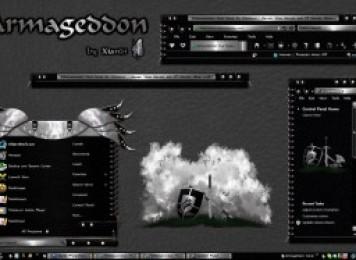 Armageddon Windows Blind Theme