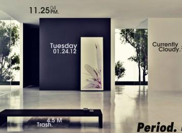 Perfect Home Rainmeter Skin For Windows 7