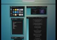 Black-Apps Rainmeter Theme