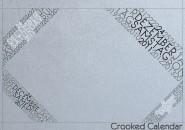 Crooked Calendar Rainmeter Theme