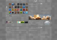 Desk Cloud 2.1 Rainmeter Theme