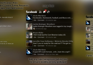 Facebook  Rainmeter Theme