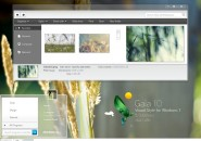 Gaia 10 theme for windows 7