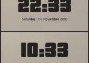 Pricedown Rainmeter Clock