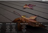 Shadow Rainmeter Skin