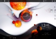 Swift Abstract Rainmeter Skin