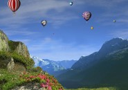 hot air balloons screensaver