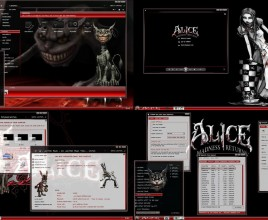 Alice theme for windows 7