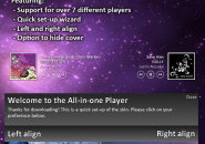All In One Player Windows 7 Rainmeter Theme