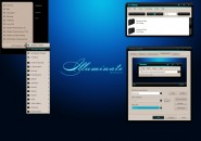 Alpha Illuminate Windows Blind Theme