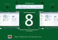 Animated explorer v2 theme for windows 7'